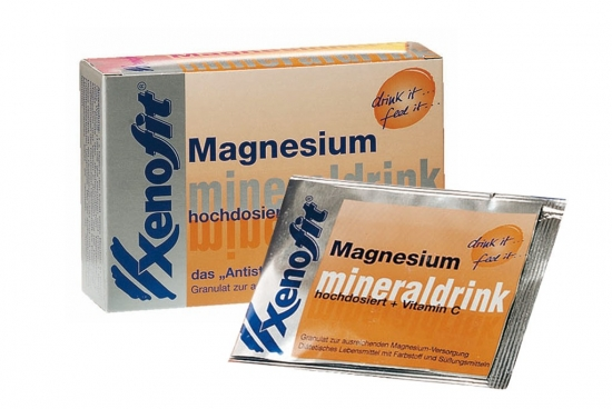 Magnesium+Vitamin C Mineraldrink Xenofit20 Portionsbeutel a 150 ml, Orange