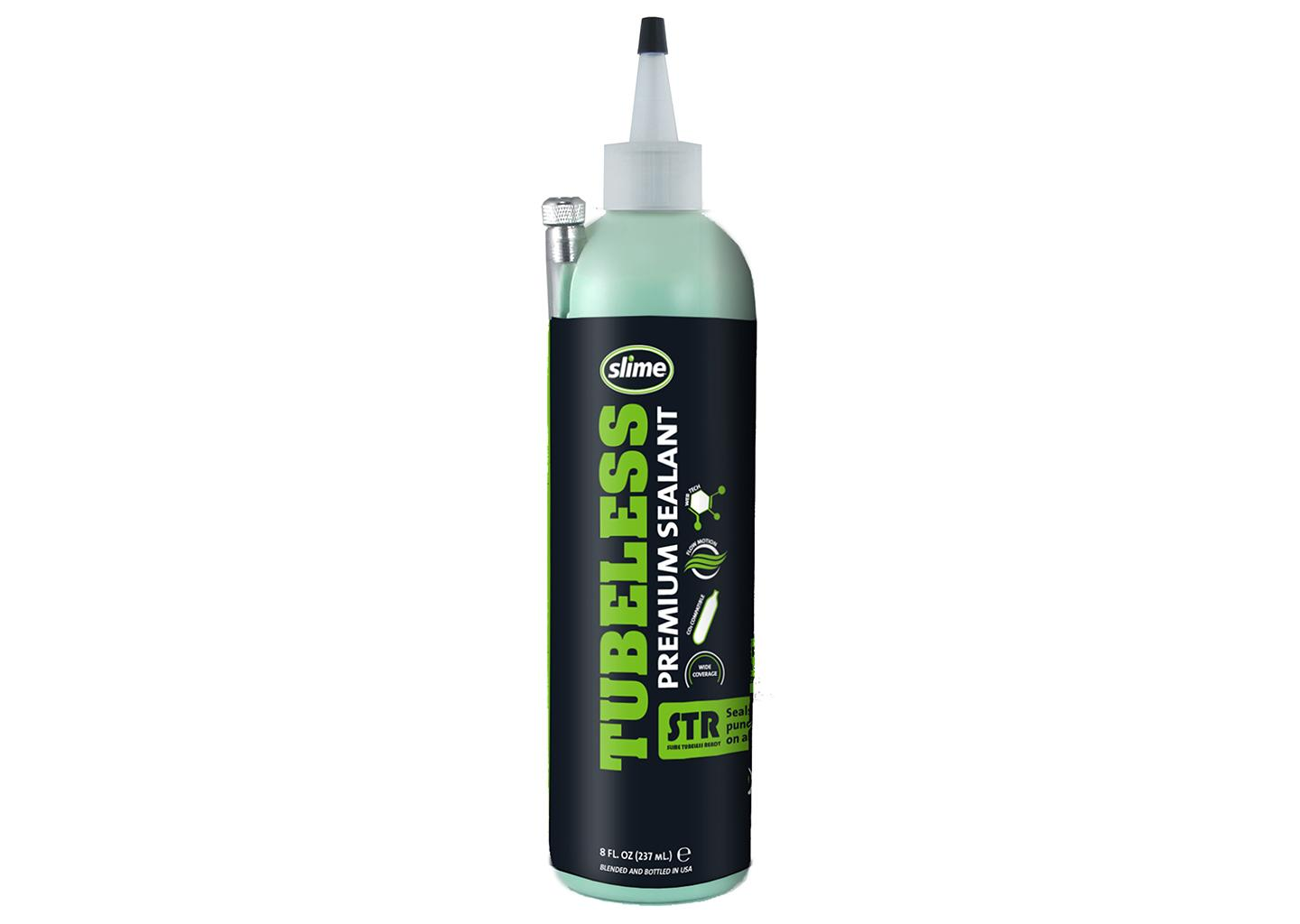 slime, STR Premium Tubeless Sealant / Dichtmittel, CO2-kompatibel, frei von Allergenen, 8 oz. (236ml)