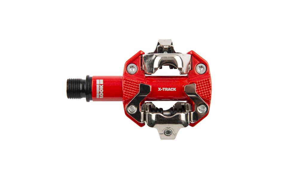 Look x-track MTB / Cross Klickpedal - Farbe: rot