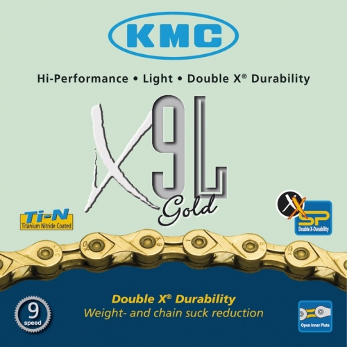 Schaltungskette KMC X-9L-Gold light1/2