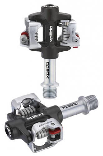 Pedal Xpedo Clipless M-FORCE 4 CRschwarz/silber,9/16