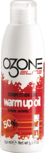 Warm-Up Oil Elite Ozone150ml, Aufwärmendes Öl Spray