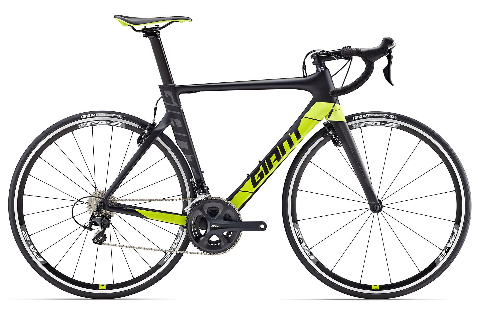 Giant Propel Advanced 2 Carbon Aero 2017 - Größe: M