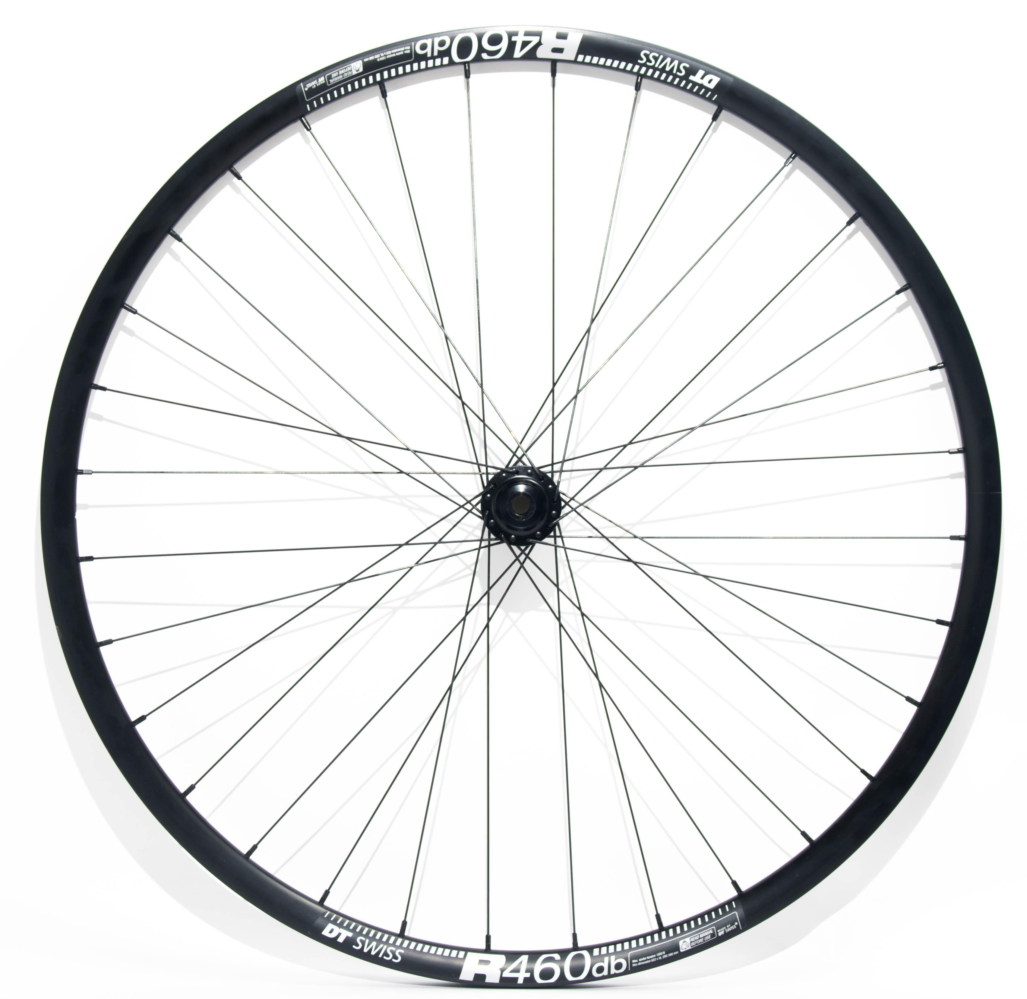 Laufradsatz, DT Swiss R 460 Disc Felge,DT Swiss 350 Nabe, Clincher - Naben: IS 6-bolt, oh. SNSP 32L