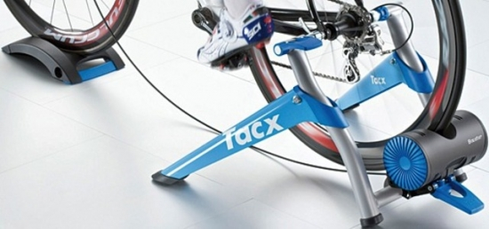 Cycletrainer Tacx BoosterT 2500, blau/silber